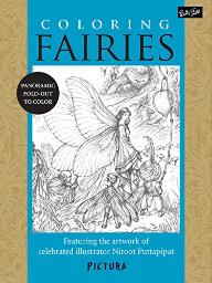 Coloring Fairies: Featuring the artwork of celebrated illustrator Niroot Puttapipat (PicturaTM) [Paperback] Puttapipat,