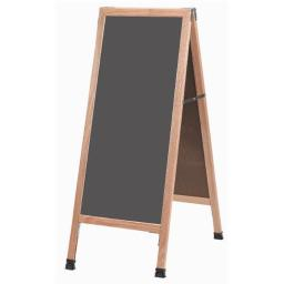 aarco-products-inc-a-35ss-a-frame-sidewalk-board-features-a-slate-colored-porcelain-chalkboard-and-solid-red-oak-frame-with-a-clear-lacquer-finish-awgunvnf01gnzg1d