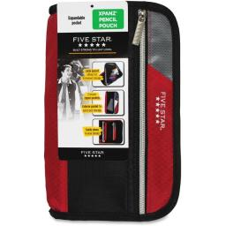 Five Star MEA50206 Xpanz Carrying Case for Pencil, Pen, Supplies - Assorted