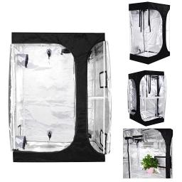 2 in 1 High Reflective Mylar Hydroponics Grow Tent Indoor Planting Propagation