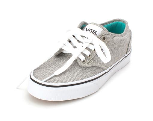 317dbb34f7 VANS Vans Womens Atwood Low Canvas Low Top Lace Up Fashion Sneakers ...