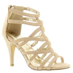 Bellini Womens missy Calf Hair Open Toe Casual Strappy Sandals