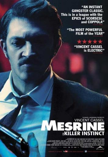 Mesrine Killer Instinct Movie Poster (11 x 17) I1OBYS77OTYGV4UI