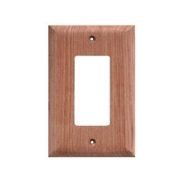 Whitecap teak ground fault outlet cover 2 pack