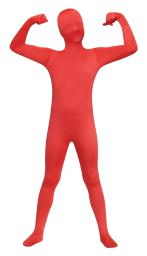 Skin Suit Red Child Costume Size Large 12 14 FW131262RD