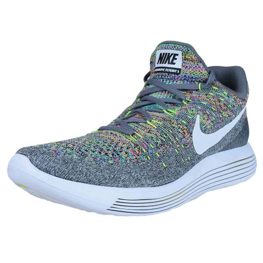 9f23c9a76aa42 Nike Nike Mens Lunarepic Low Flyknit 2 Low Top Lace Up Running ...