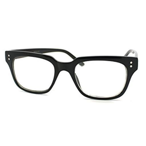 Kingsman Glasses Black Eyeglasses Nerd Dots Secret Service Movie Fashion Costume YK7LDW2JIZWGEJVK
