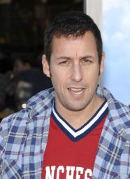 Adam Sandler At Arrivals For Paul Blart: Mall Cop Los Angeles Premiere, Mann Village Theatre, Los Angeles, Ca, January 10, 2009. Photo By: Michael Germana/Everett Collection Photo Print EVC0910JAFGM047HLARGE