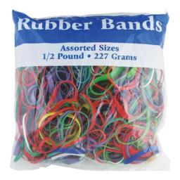 DDI 703540 Assorted Dimensions 227g/0.5 lbs. Rubber Bands Case of 48