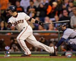 Marco Scutaro RBI Single Game 1 of the 2012 World Series Action Photo Print PFSAAPI12501