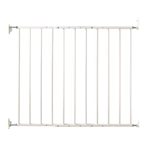 Kidco Pg5200 White Kidco Command Wall Mounted Pet Gate White 24.75 - 42.5 X 1.75 X 31