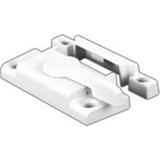 Prime Line Products Vinyl Window Sash Lock White F 2554