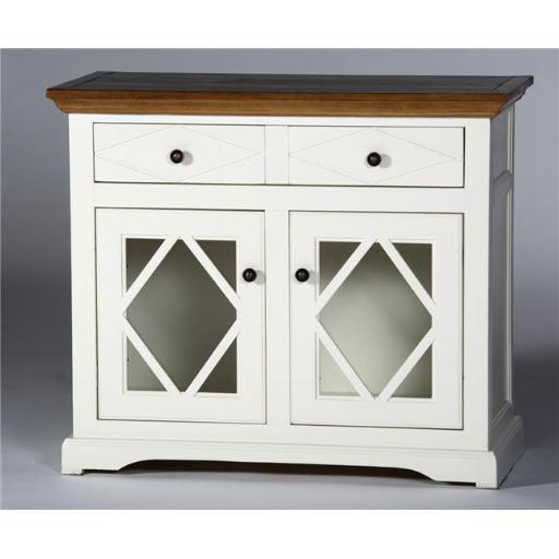 Eagle Furniture SB321741SSCR 41 in. Caribbean Rum Shelter Bay Credenza & Console, Summer Sage