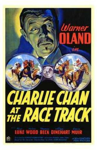Charlie Chan At the Race Track Movie Poster (11 x 17)