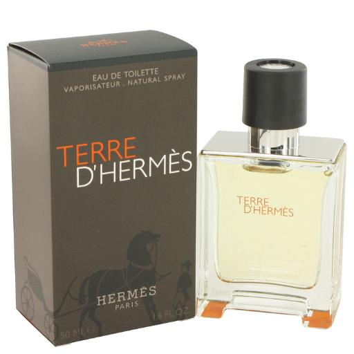 Terre D'Hermes by Hermes Eau De Toilette Spray 1.7 oz for Men (Package of 2) Hermes Terre D'Hermes harkens to the scent of a natural man living in splendor. This elegant fragrance debuted on the market in 2006 and quickly defined itself as a leading industry standard. We are pleased to sell Hermes Terre d'Hermes products, including Terre d'Hermes cologne.