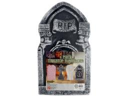 Spcsut236 spc table top tombstone 4pc red black grey