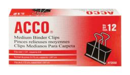 Acco A7072050 Binder Clips, 5/8""
