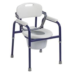 RedMoby Wenzelite-PC-1000-BL Pinniped Pediatric Commode - Blue