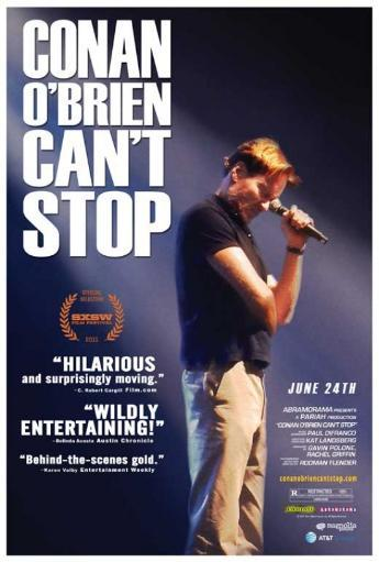 Conan O'Brien Can't Stop Movie Poster (11 x 17) VJH5WCENBCBNTO4X