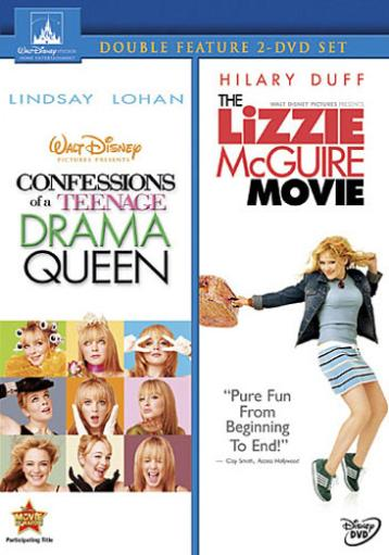 Confessions of a teenage drama queen/lizzie mcguire movie (dvd/2 disc)