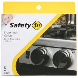 Safety 1st Charcoal Plastic Decor Door Lock 5 pk - Case Of: 1; Each Pack Qty: 5; Total Items Qty: 5