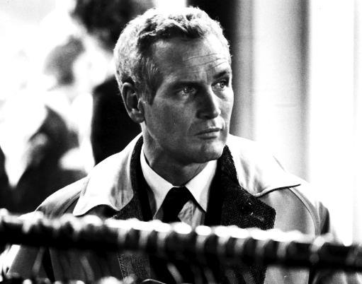 Film still featuring Paul Newman in The Mackintosh Man Photo Print