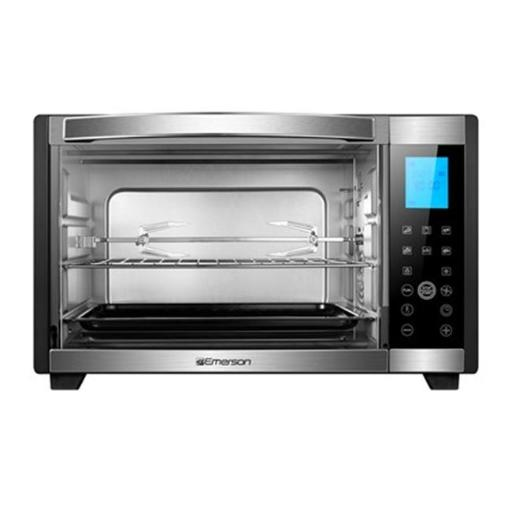Stainless Steel 6-Slice Convection & Rotisserie Countertop Toaster Oven with Digital Touch Control, Black FIA8DWQNQDSEA8J5