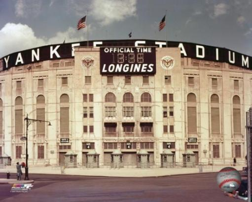 Yankee Stadium - outside/color Photo Print