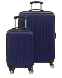 Renwick by Princess Traveler Dallas 2pc Smart Spinner Set with Portable Charger