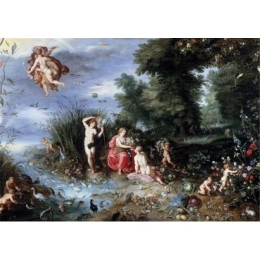 Posterazzi SAL900137131 Allegory of the Elements Jan Bruegel the Elder 1568-1625 Flemish Poster Print - 18 x 24 in.