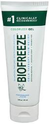 Biofreeze Gel Clear - 3 Oz, Pack Of 4