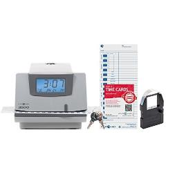 Pyramid time - strategic 3500 pyramid 3500 time clock & document stamp