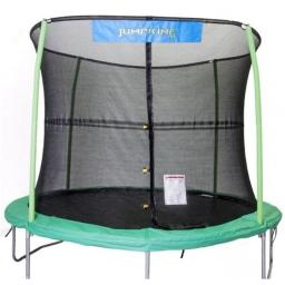 Bazoongi NET14-JP6-7JK 14 ft. Enclosure Netting with 6 Poles & 7 in. Springs with Jump King Logo