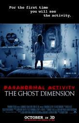 Paranormal Activity The Ghost Dimension Movie Poster (11 x 17) MOVEB23545