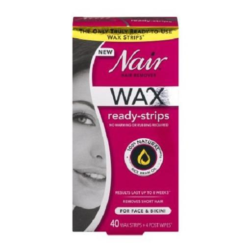 Nair Hair Remover Wax Ready Strips JL8BUIULSYUI9WTE