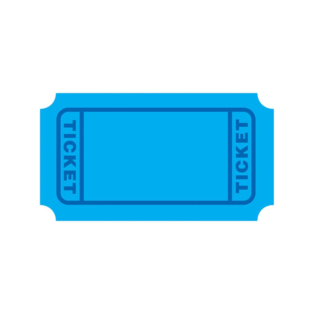 Trend (3 pk) blue tickets accents