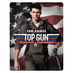 Top gun 30th anniversary edition steelbook (blu ray/dvd w/digital hd)(2dvd) BR51779650