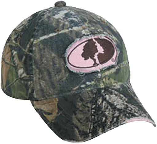 Outdoor cap odc ladies mo field staff pink/camo mofs11a