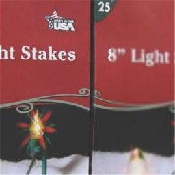 Adams 373100 Stakes Light Boxed - 25 Count
