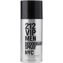 212 VIP by Carolina Herrera DEODORANT SPRAY 5 OZ (Package Of 6)