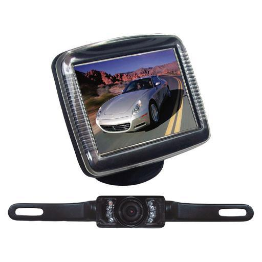 Pyle Pyle 3.5 Stand Monitor Rear View Camera