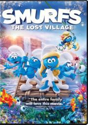 Smurfs-lost village (dvd) D48843D