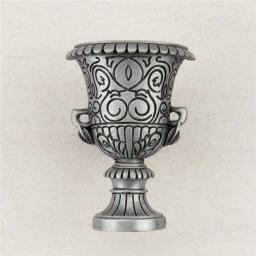 Acorn Manufacturing DQBPP 1.62 x 1.12 in. Artisan Collection Urn, Antique Pewter