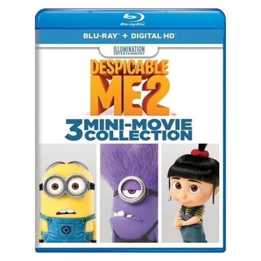 Despicable me 2-3 mini-movie collection (blu ray w/digital hd) 1XJDNFLWYQWCFXIP