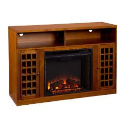 Holly & Martin Akita Media Electric Fireplace, ESPRESSO