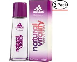 ADIDAS NATURAL VITALITY by Adidas EDT SPRAY 1.7 OZ (Package Of 3)