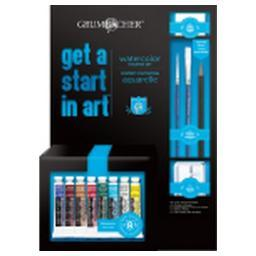 Chartpak, Inc. Gstartw Grumbacher Get A Start In Art Academy Watercolor Paint Set