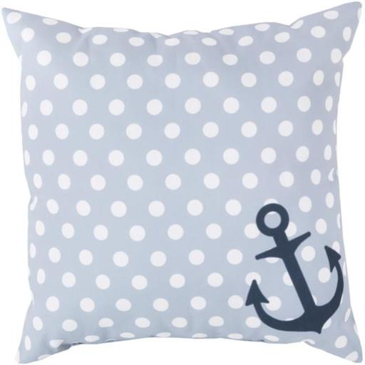 Surya RG127-2626 Rain 26 x 26 x 5 in. Throw Pillow, Grey - Large