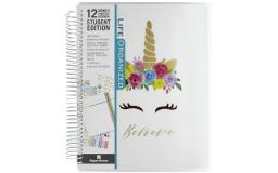 Pl-2003e paper house life org planner 12 month student