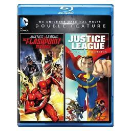 Dcu justice league-flashpoint paradox/crisis on two earths (blu-ray/dbfe) BR596816